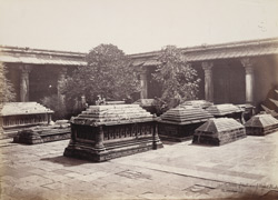 Rani Ka Hajira or Tombs of the Queens, Ahmadabad 1688